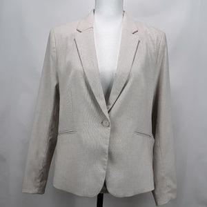 H & M  Womens Jacket Blazer  SZ 14 work or career